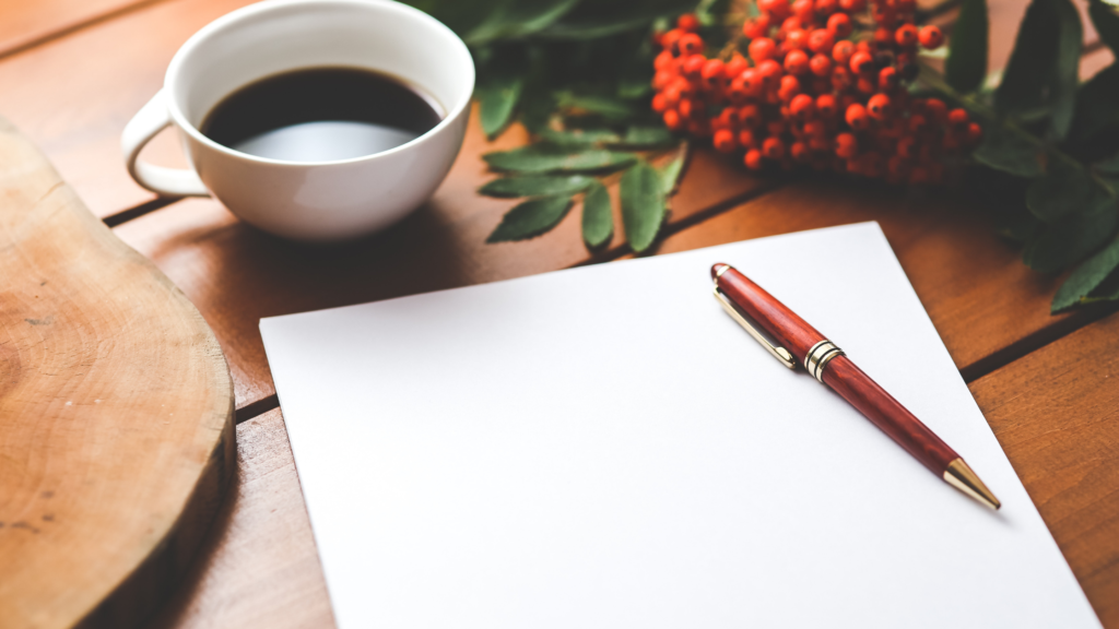 How to write morning pages